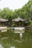 Asian China, antique buildings, the lake, Pavilion Royalty Free Stock Photo