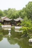 Asian China, antique buildings, the lake, Pavilion Stock Photography