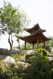Asian China, antique buildings, rockery, Pavilion Royalty Free Stock Photo