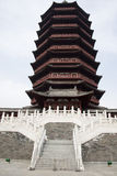 Asian China antique buildings, the tower of Yongdi Royalty Free Stock Photo