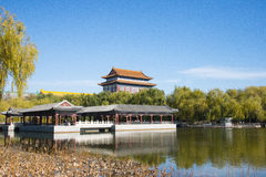 Asian China, Beijing, antique buildings, the best in all the land of city Stock Photography