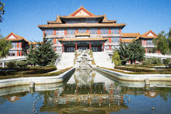 Asian China, Beijing, antique buildings, the best in all the land of city Royalty Free Stock Photos