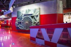 Asian China, Beijing, Automobile Museum,Indoor exhibition hall Stock Image