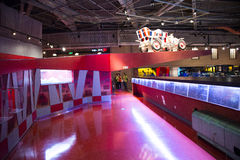 Asian China, Beijing, Automobile Museum,Indoor exhibition hall Stock Photography