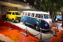 Asian China, Beijing, Automobile Museum,Indoor exhibition hall Stock Photos