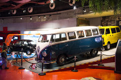 Asian China, Beijing, Automobile Museum,Indoor exhibition hall Stock Images