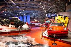 Asian China, Beijing, Automobile Museum,Indoor exhibition hall Stock Photo