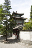Asian China, Beijing Beihai Park, the ancient buil Royalty Free Stock Photos