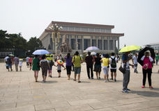 Asian China, Beijing,Chairman Mao Zedong Memorial Hall Royalty Free Stock Photography
