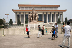 Asian China, Beijing,Chairman Mao Zedong Memorial Hall Stock Photos