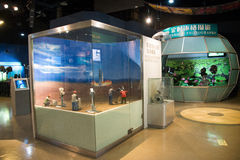 Asian China, Beijing, China National Film Museum�Indoor exhibition hall, Royalty Free Stock Photos