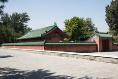 Asian China, Beijing, Ditan Park, ancient architecture Royalty Free Stock Image