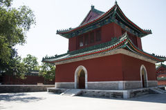 Asian China, Beijing, Ditan Park, the bell tower Stock Photo