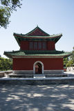 Asian China, Beijing, Ditan Park, the bell tower Royalty Free Stock Image