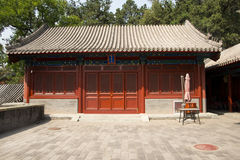 Asian China, Beijing, Fahai Temple Park, ancient architecture Stock Photos