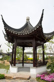 Asian China Beijing Garden Expo Garden, antique bu Royalty Free Stock Photography