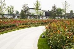 Asian China Beijing Garden Expo Garden, a beautifu Royalty Free Stock Image
