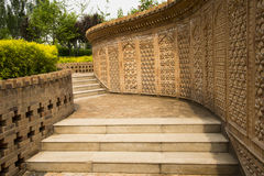 Asian China Beijing Garden Expo Garden, Xinjiang v Stock Image