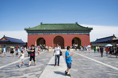 Asian China, Beijing, historic building, Tiantan, Danbi Bridge Stock Photo
