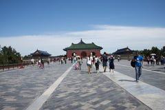 Asian China, Beijing, historic building, Tiantan, Danbi Bridge Stock Photos