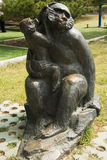 Asian China, Beijing, International Sculpture Park, Papio Royalty Free Stock Photo