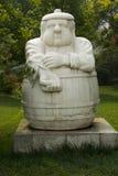 Asian China, Beijing, International Sculpture Park, strength Stock Photos