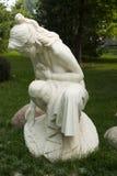 Asian China, Beijing, International Sculpture Park, woman, spring Royalty Free Stock Image