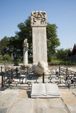Asian China, Beijing, Lugou Bridge, places of historic interest and scenic beauty Stock Photos