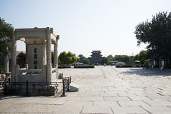 Asian China, Beijing, Lugou Bridge, places of historic interest and scenic beauty Stock Photo