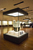 Asian China, Beijing, National Museum, indoor exhibition hall, The bronze, Royalty Free Stock Images