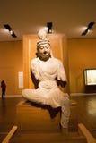 Asian China, Beijing, National Museum, indoor exhibition hall, The Buddha Stock Photo