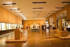 Asian China, Beijing, National Museum, indoor exhibition hall, The Buddha Stock Photos