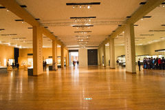 Asian China, Beijing, National Museum, indoor exhibition hall, The Buddha Royalty Free Stock Photography