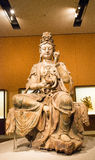 Asian China, Beijing, National Museum, indoor exhibition hall, The Buddha Stock Images