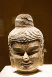 Asian China, Beijing, National Museum, indoor exhibition hall, The Buddha Stock Image