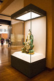 Asian China, Beijing, National Museum, indoor exhibition hall, The Buddha Royalty Free Stock Photo