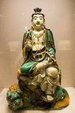 Asian China, Beijing, National Museum, indoor exhibition hall, The Buddha Royalty Free Stock Images