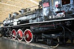 Asian China, Beijing, Railway Museum, exhibition hall, train Royalty Free Stock Image