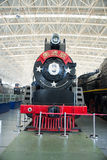 Asian China, Beijing, Railway Museum, exhibition hall, train. Chinese Railway Museum is a national professional railway museum only, locomotive and car showroom Stock Images