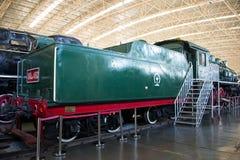 Asian China, Beijing, Railway Museum, exhibition hall, train Stock Photos