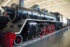 Asian China, Beijing, Railway Museum, exhibition hall, train Royalty Free Stock Photos