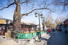 Asian China, Beijing, Shichahai, historical and cultural tourism scenic area Stock Images