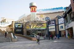 Asian China, Beijing, Solana, winter landscape, Christmas Stock Photography