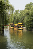 Asian China, Beijing, the Summer Palace, cruise Royalty Free Stock Photo