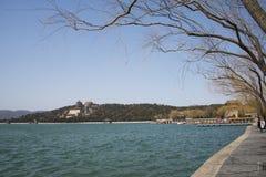 Asian China, Beijing, the Summer Palace, Kunming Lake,fo xiang ge Royalty Free Stock Photos