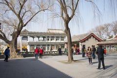 Asian China, Beijing, the Summer Palace, Shi Fang Stock Photo