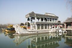 Asian China, Beijing, the Summer Palace, Shi Fang Stock Images
