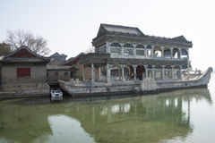 Asian China, Beijing, the Summer Palace, Shi Fang Royalty Free Stock Photography