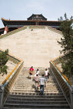 Asian China, Beijing, the the Summer Palace, Tower of Buddhist Incense Stock Photography