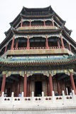Asian China, Beijing, the the Summer Palace, Tower of Buddhist Incense Royalty Free Stock Photos